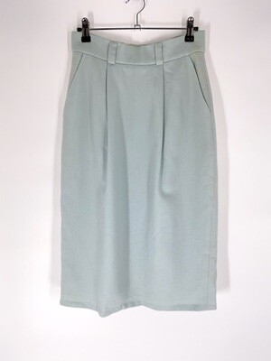 Baby Blue Pencil Skirt Size M