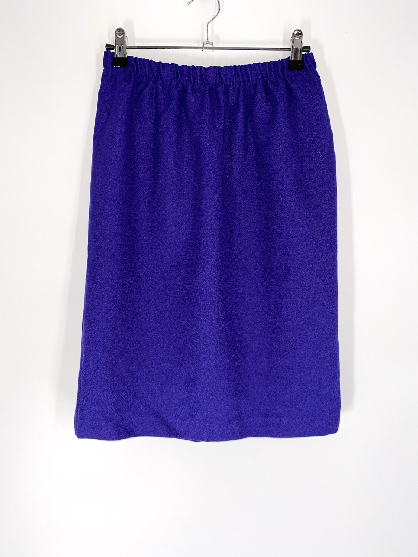 Purple Pencil Skirt Size S