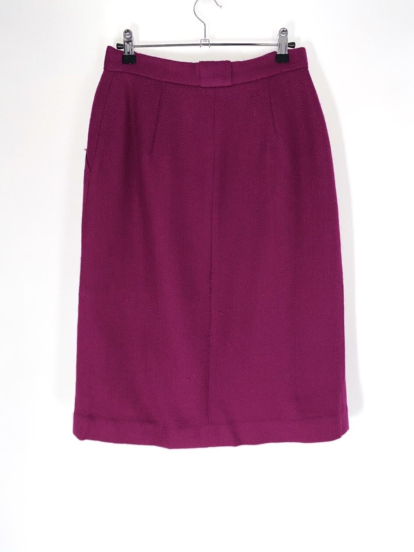 Purple Button Up Skirt Size M