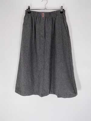 Grey Midi Skirt Size M