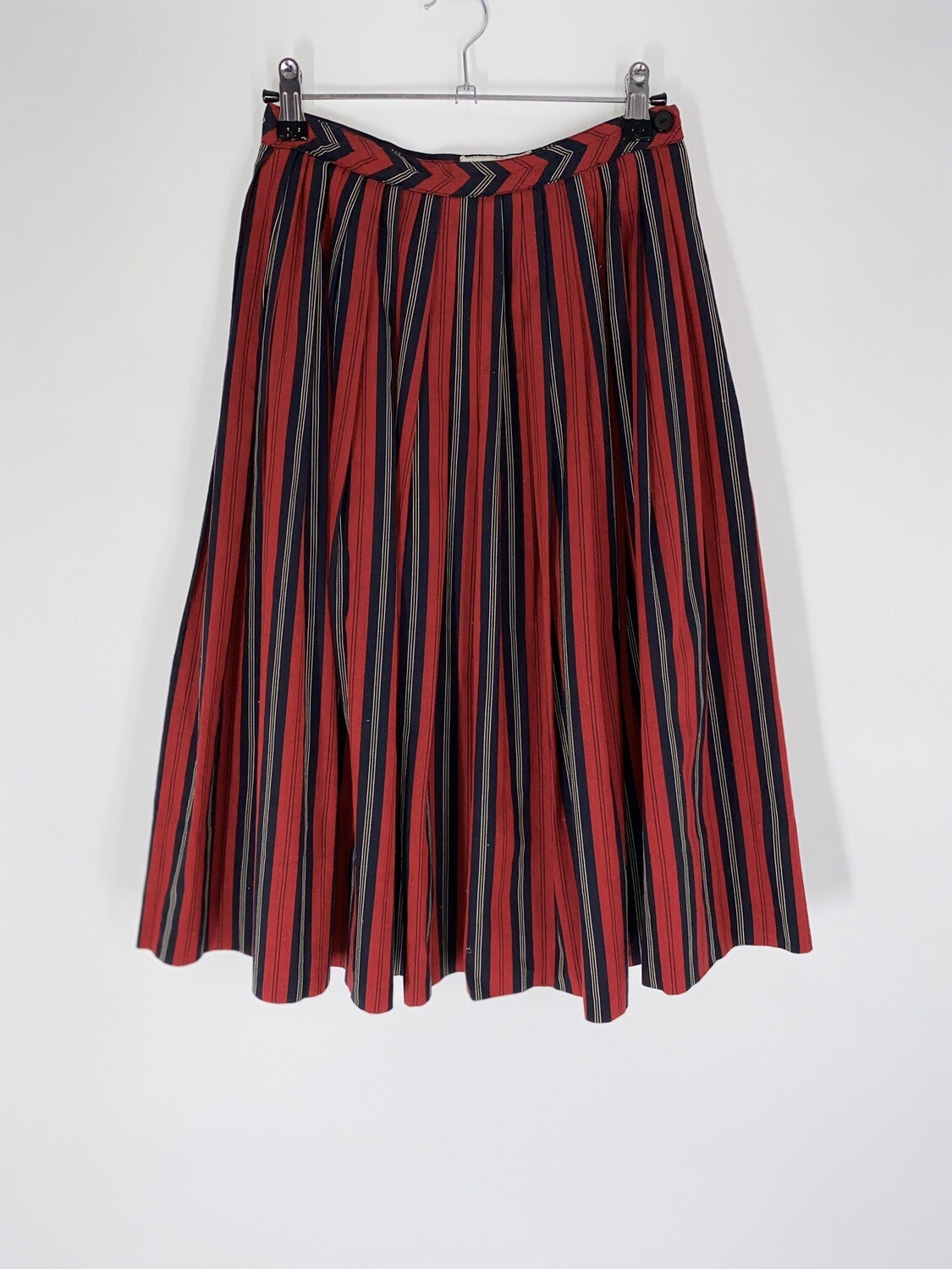 50's Miss Pat Striped Skirt Size S