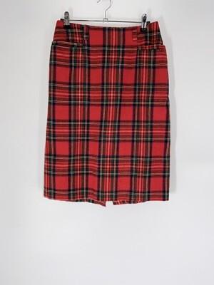 A. Byer Plaid Skirt Size M