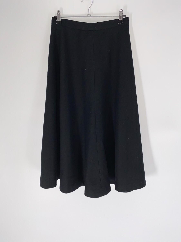 Black Swing Skirt Size M