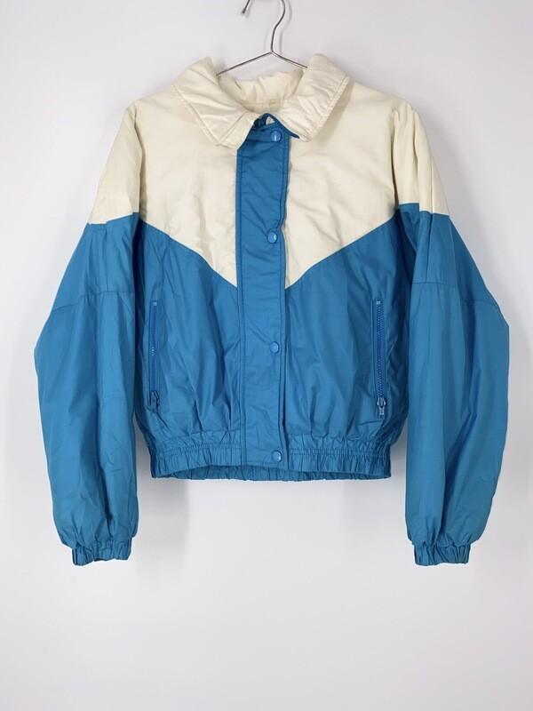 Alpine Designs Color Block Puffy Jacket Size M