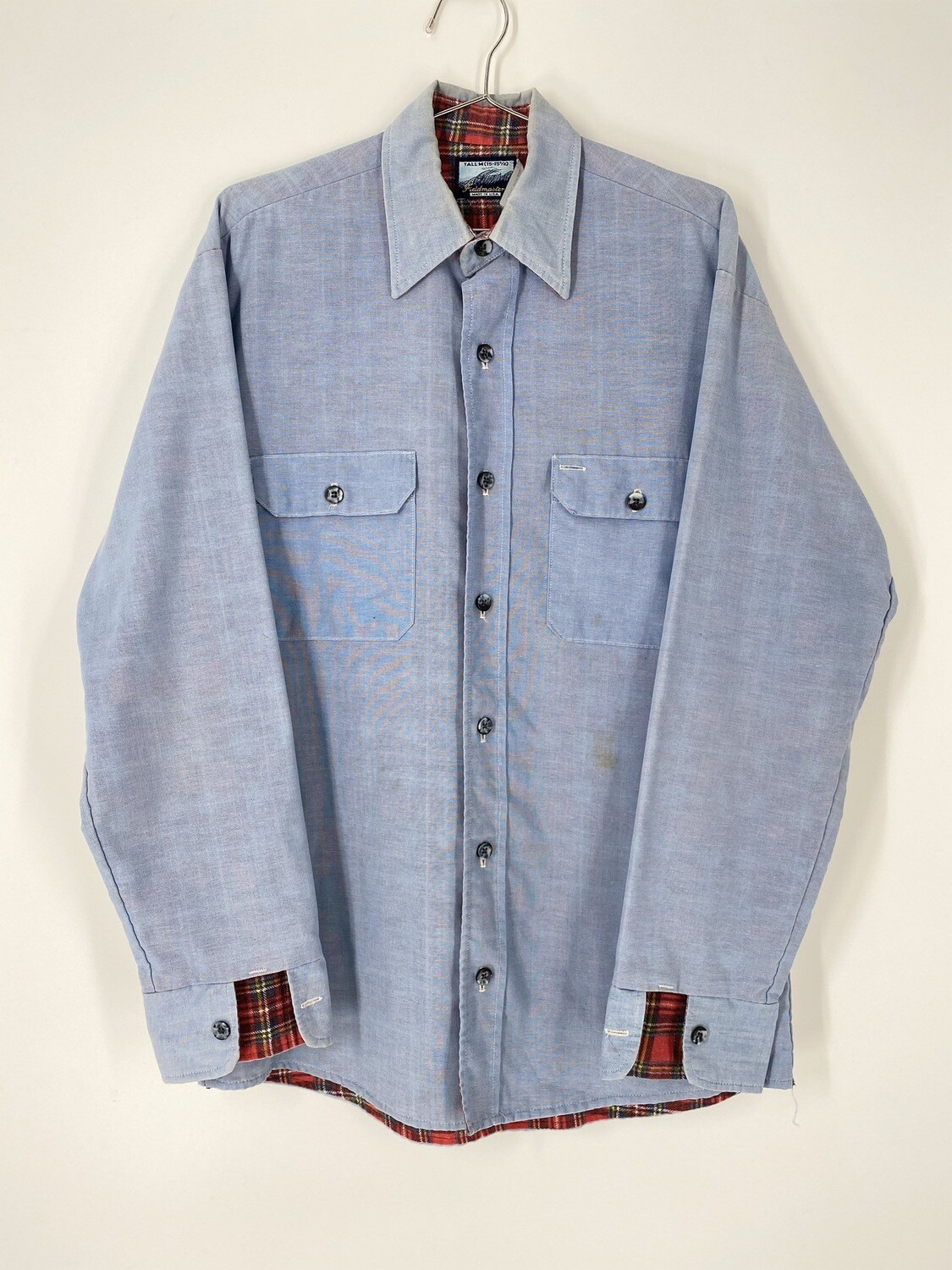 Fieldmaster Blue Chambray Shirt Jacket Size  M