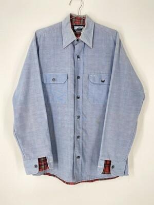 Fieldmaster Blue Chambray Shirt Jacket Size  M
