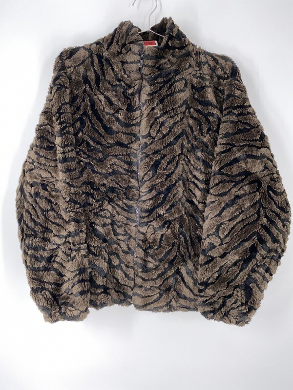 Polar Magic Faux Fur Zip Up Jacket Size S