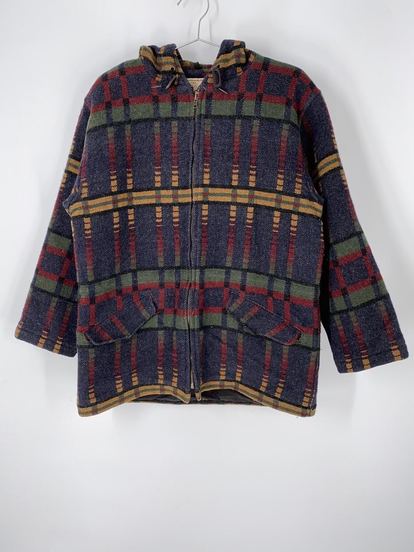 Woolrich Rugged Outerwear Print Wool Jacket Size M