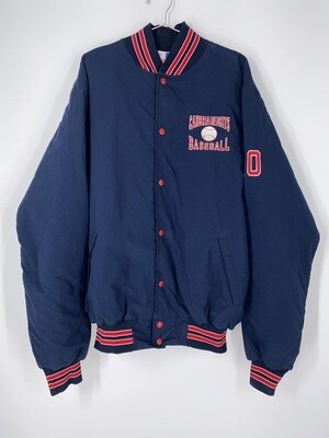 Rennoc Cambria Heights Baseball Bomber Jacket Size L