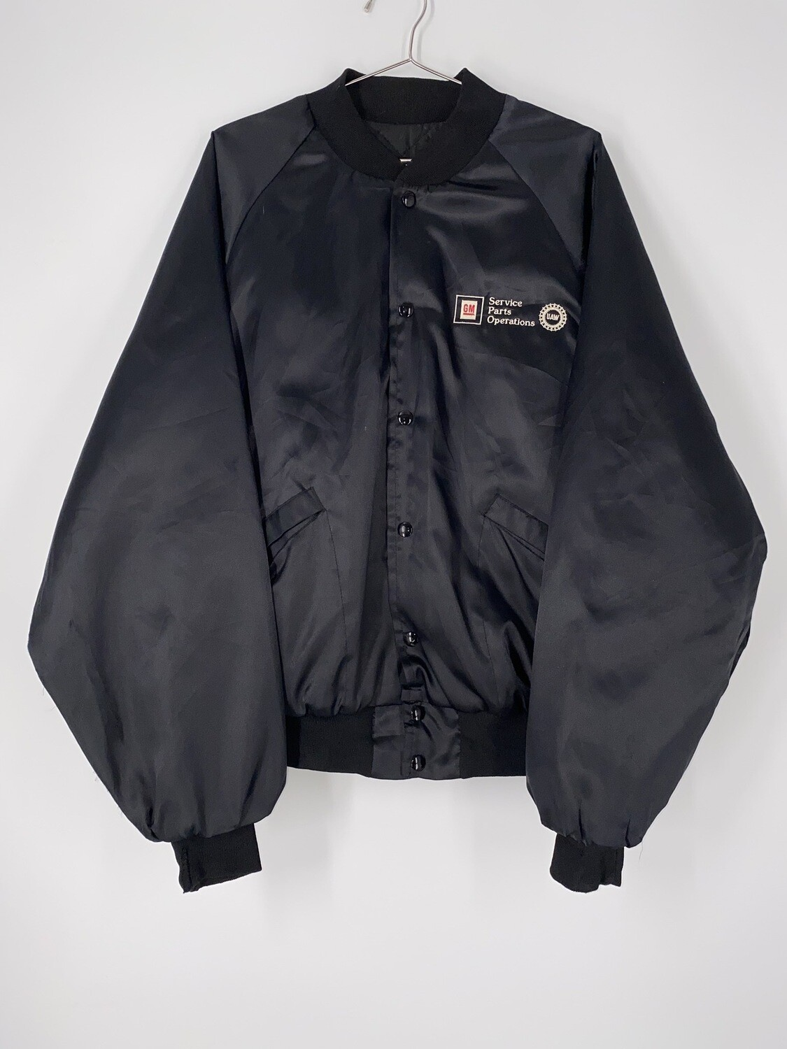 King Louie Pro Fit Service Parts Operations Embroidered Bomber Size L