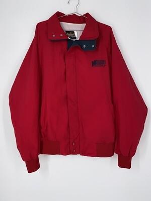 Auburn Sportswear Zip Up Bomber Jacket Size L