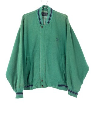 Superior Green Golf Bomber Jacket Size M