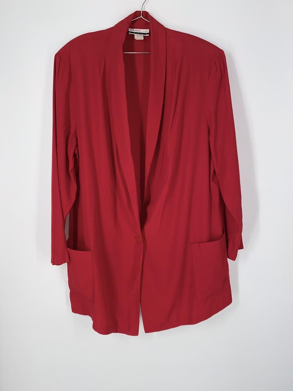 Red Lightweight Blazer Size L