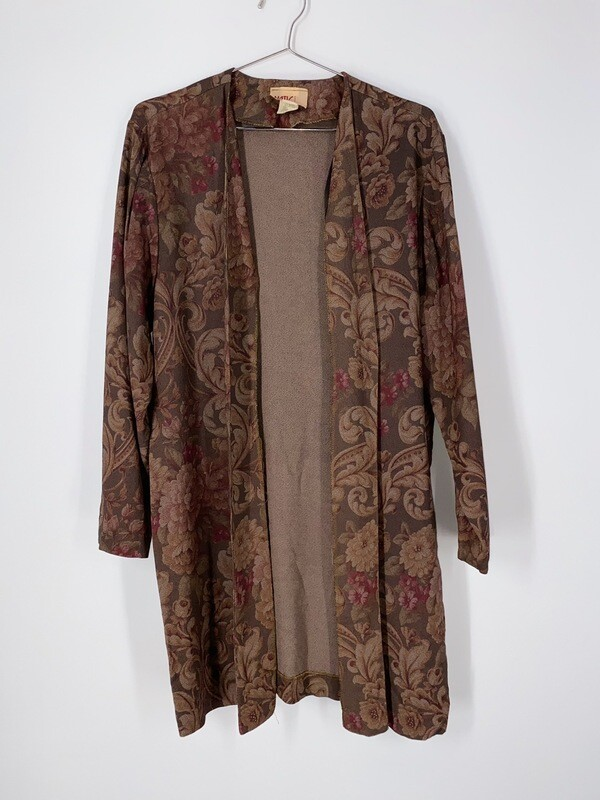 Floral Duster Top Size M