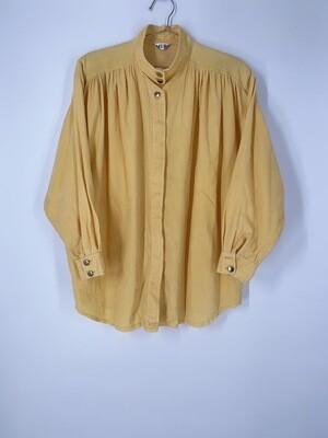 Yellow Corduroy Top Size M