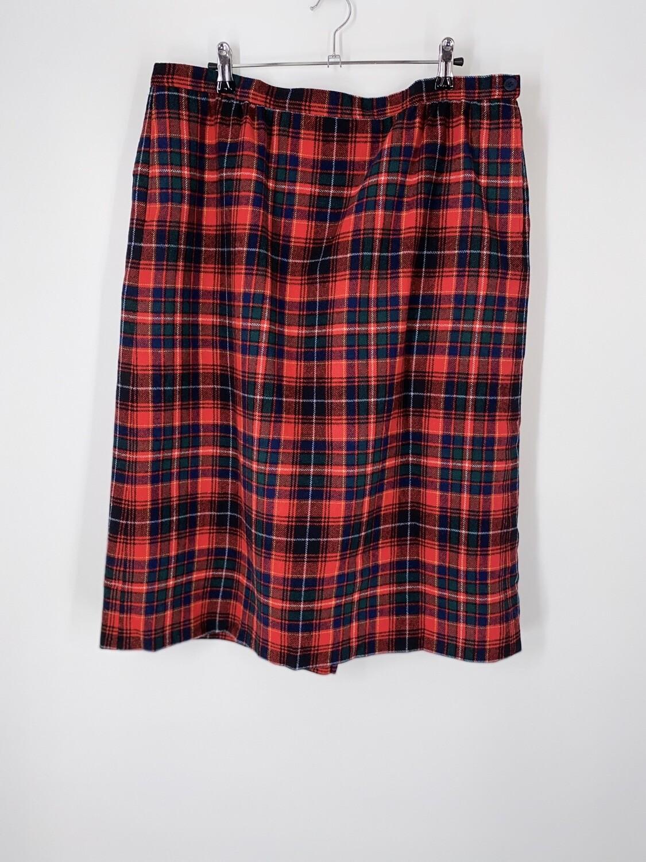 Pendleton Plaid Skirt Size L