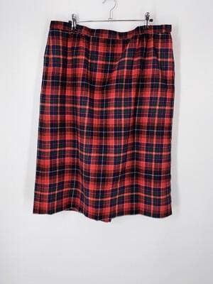 Pendleton Plaid Skirt Size 18W