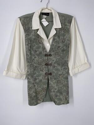 David Rose Green Vest Top Size L