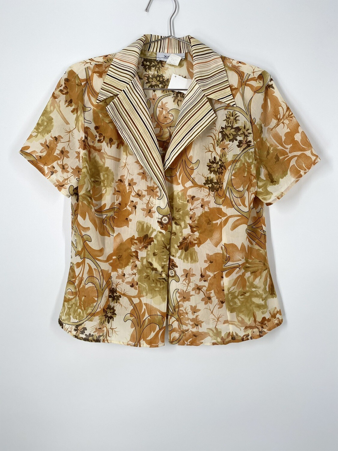 Z-Nova Floral And Striped Too Size L