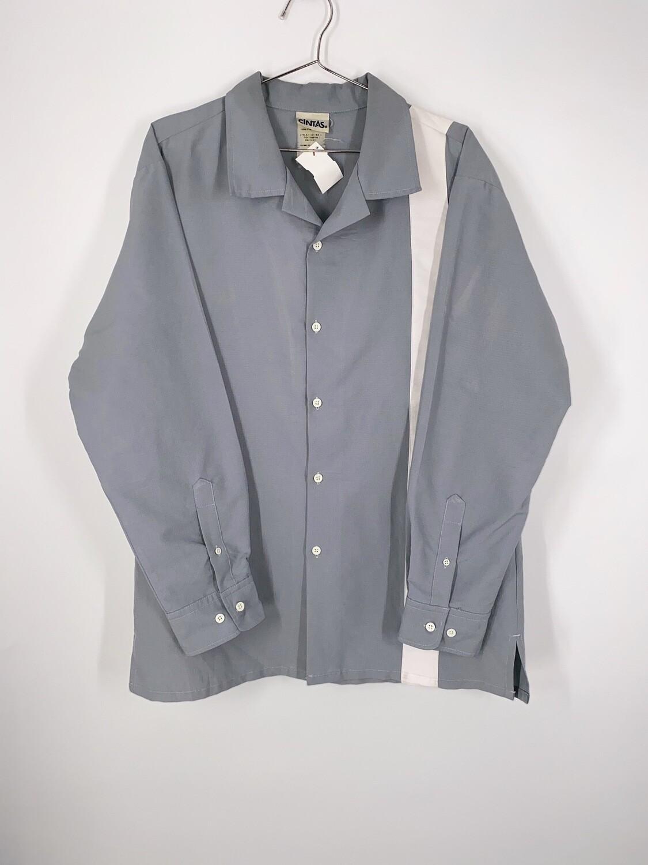 Single Stripe Button Up Size M