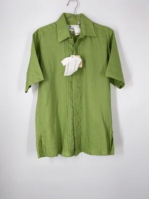 Green Linen Button Up Size S