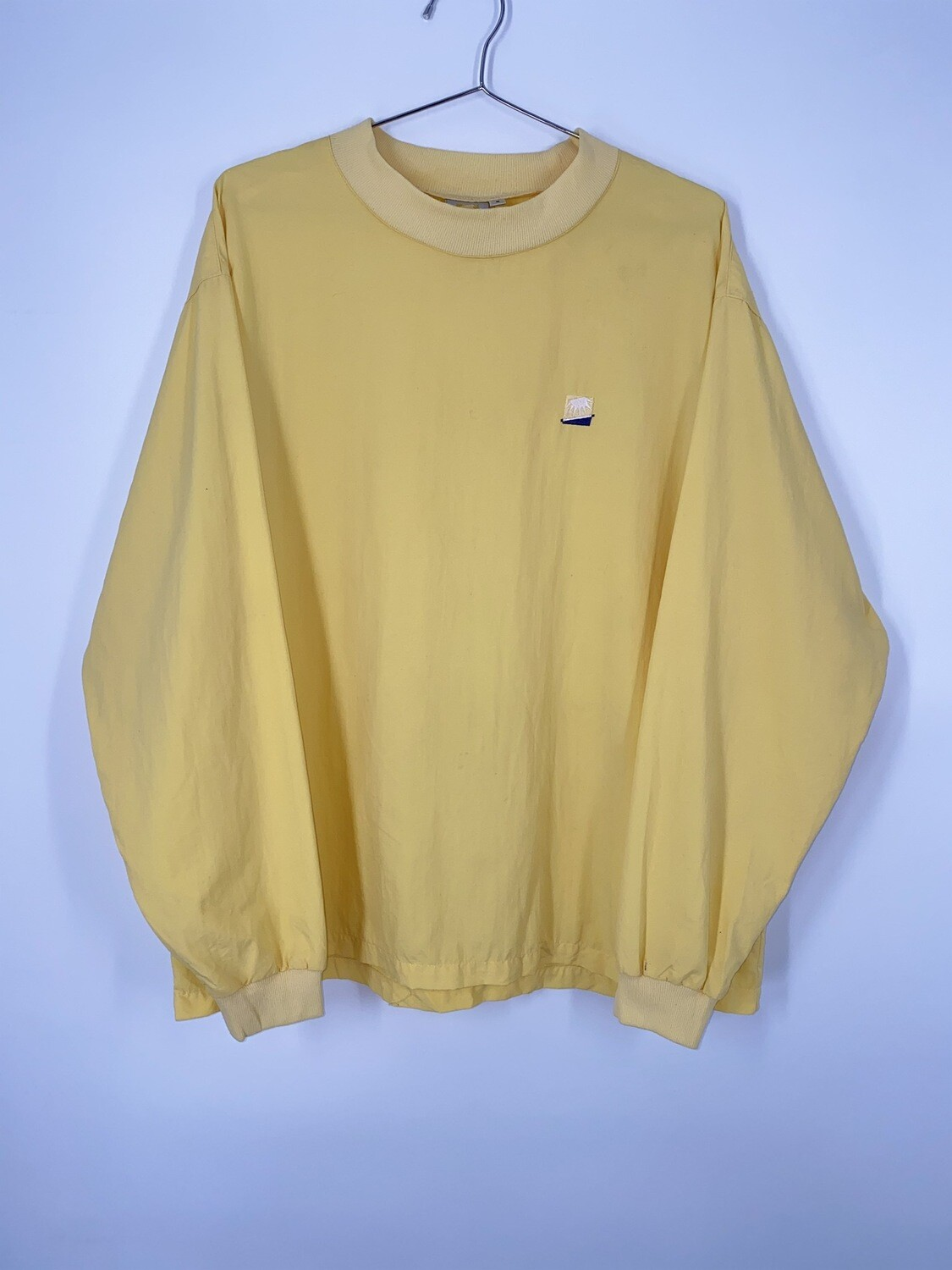 Solumbra Yellow Sports Long Sleeve Top Size M