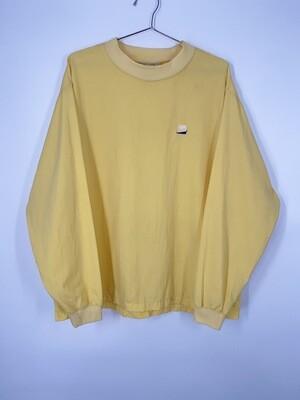 Solumbra Yellow Sports Long Sleeve Top Size M