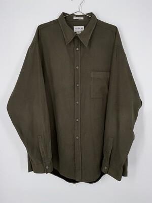Alfani Soft Brown Button Up Size L