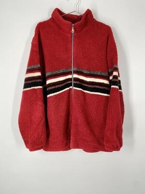 Free Country USA Zip Sweater Size Medium