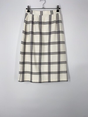 Checkered Pencil Skirt Size S
