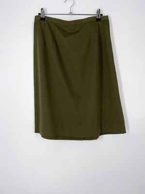 Army Green Skirt Size M