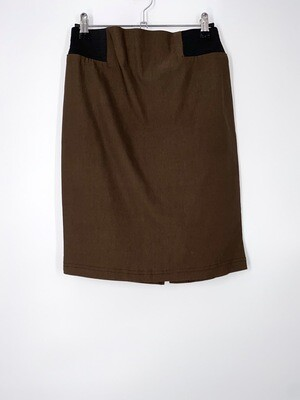 Brown Pencil Skirt Size M