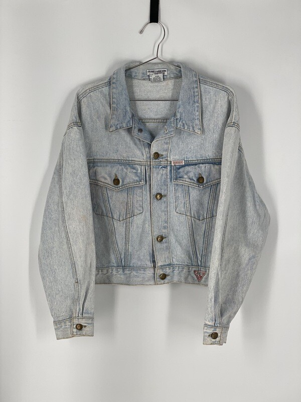 Guess By Georges Marciano Denim Jacket Size L