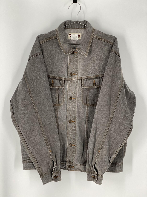 Wrangler Grey Denim Jacket Size L