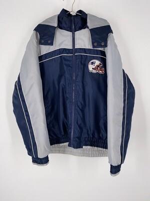 Patriots Zip Up Jacket Size L