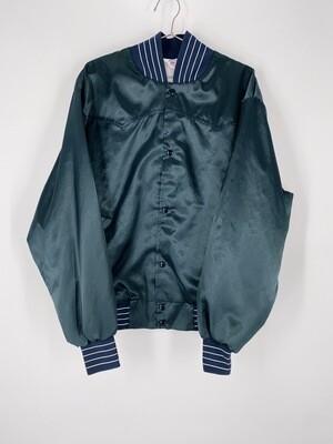 Dark Green Varsity Jacket Size L