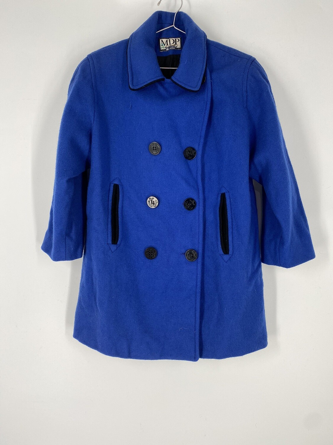 MDP Blue Heavy Coat Size L