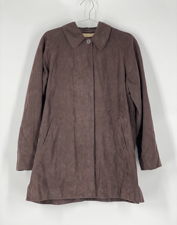 London Fog Brown Heavy Coat Size M