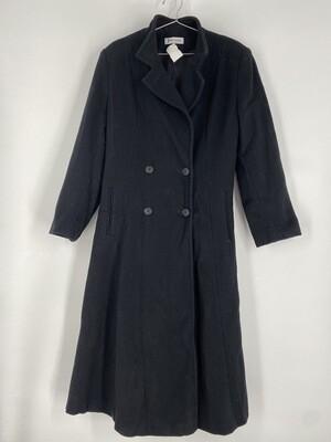 Forecaster Black Trench Coat Size L