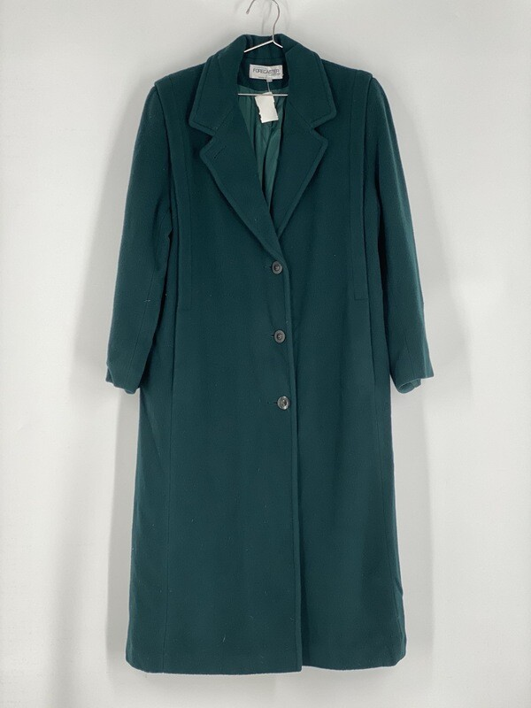 Forecaster Forest Green Trench Coat Size M