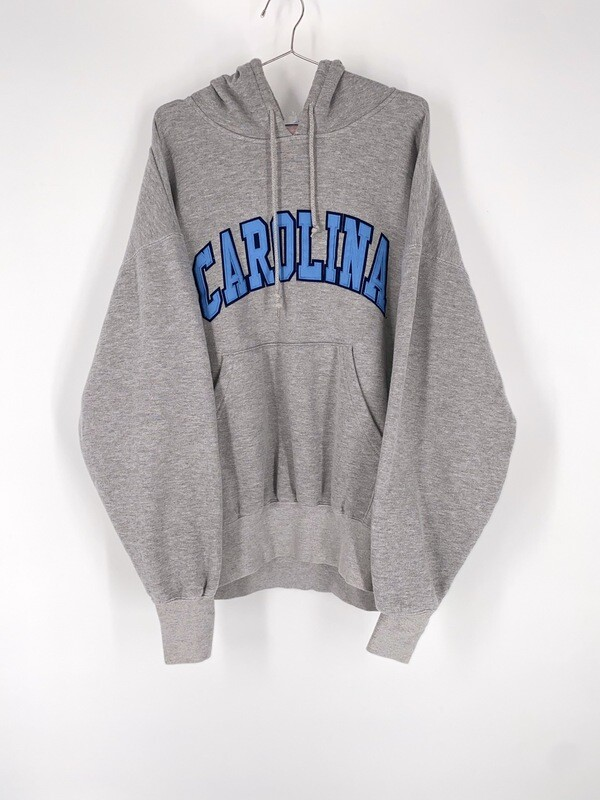 Carolina Spell Out Hoodie Size L