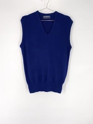 V-Neck Sweater Vest Size M