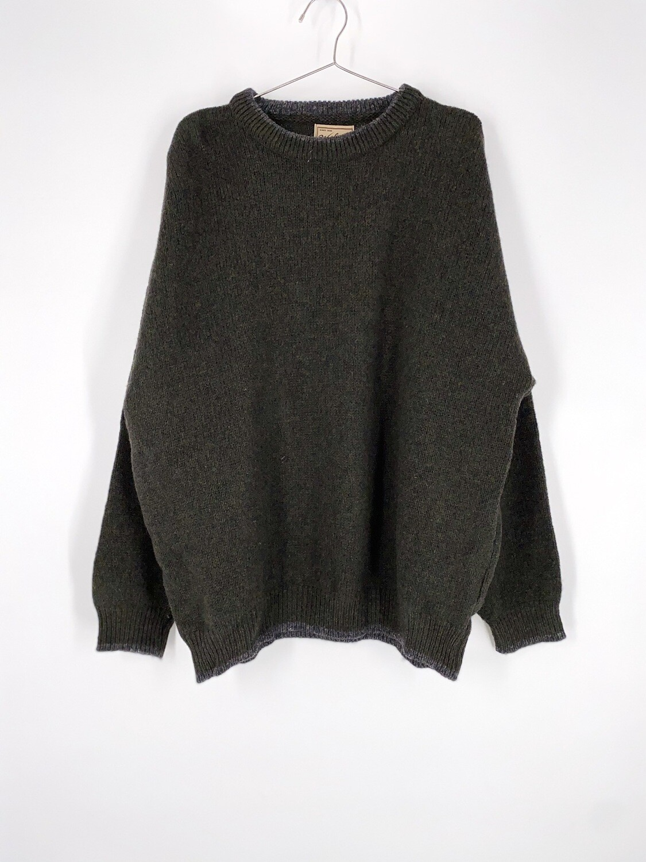 Woolrich Dark Green Sweater Size L