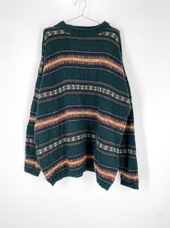 Woolrich Patterned Sweater Size L