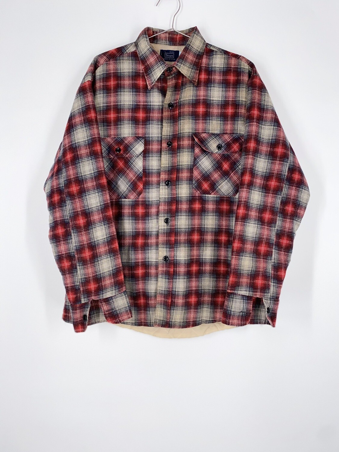 Flannel Button Up Size L