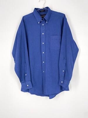 Blue Button Up Size L