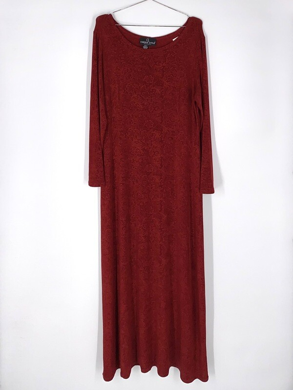 Floral Stretchy Dress Size L