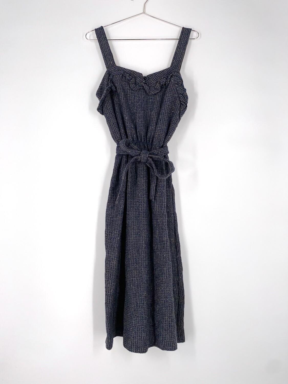 Wool Tie Dress Size M