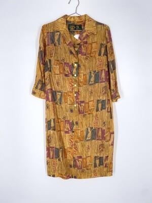 Horse Patterned Dress Size M