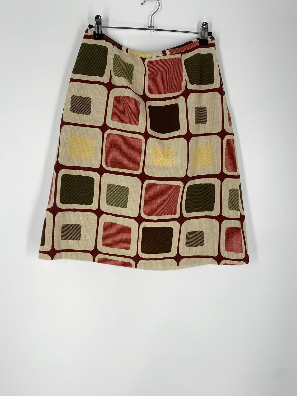 J McLaughlin Color Square Skirt Size M